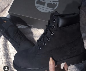 black, boots, and timberland image