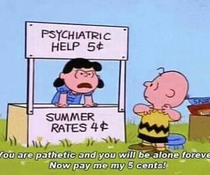 charlie brown, Lucy, and funny image