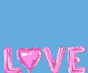 gif, pink, and love image