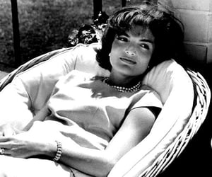Jackie Kennedy and vintage image