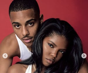 beauty, black girls, and couples image
