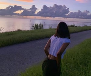 aesthetic, back, and nature image