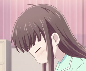anime, anime girl, and feelings image