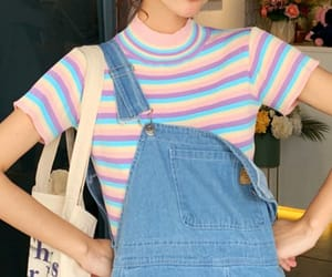 fashion, girl, and overall image