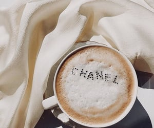 coffee, chanel, and aesthetic image