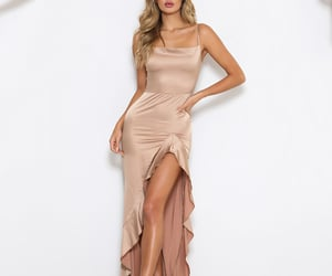 prom dress, sexy dress, and evening gowns image