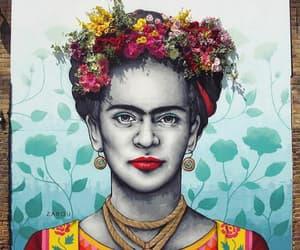 artist, Frida, and kahlo image