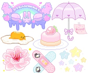 adorable, pastel png, and editing image