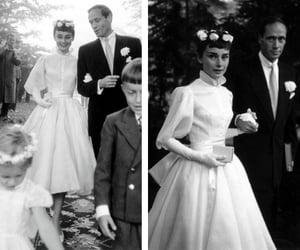 50s, bride, and audrey hepburn image