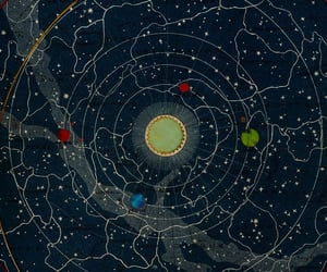 art, astrology, and astronomy image