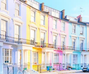 architecture, colors, and london image