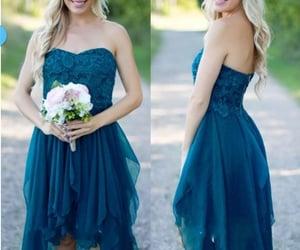 lace bridesmaid dress, wedding party dress, and bridesmaid dresses 2020 image