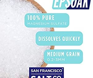 best epsom salt for bath image