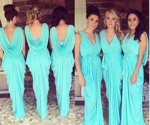 wedding party dress, 2020 bridesmaid dress, and cheap bridesmaid dress image
