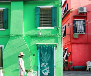 architecture, venice, and colorful image