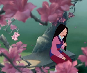flowers and mulan image