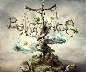 balance, metaphor, and fantasy image