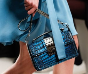 blue, fashion, and bag image