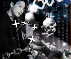aesthetic, cyber, and jungkook bts image