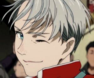 anime icons, victor nikiforov, and yuri on ice image