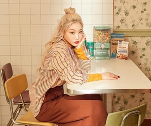 korean, singer, and style image