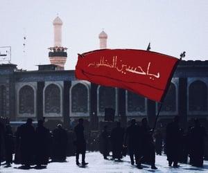 محرّم, اﻻمام الحسين, and علي بن ابي طالب image