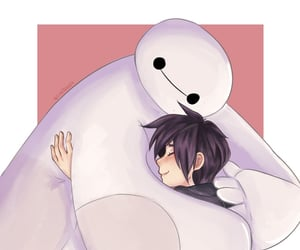 aesthetic, baymax, and disney image