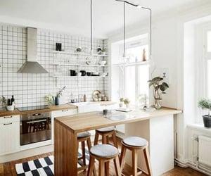 Blanc, cuisine, and Joli image
