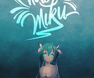 hatsune miku, miku, and miku hatsune image