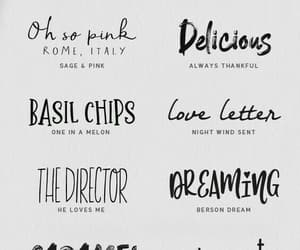 calligraphy, fonts, and journaling image