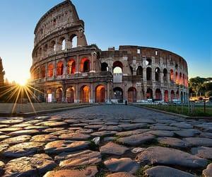 romantique, rome, and soleil image