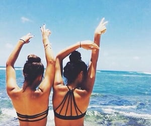 best friends, folie, and filles image