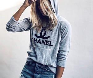 fashion, chanel, and hoodie image