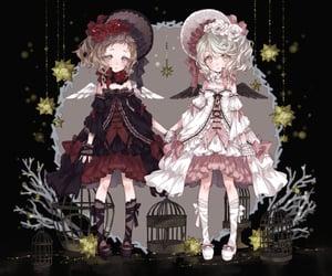 anime, same, and twins image