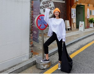 korean fashion, style, and kfashion image