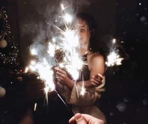 amis, feu d'artifice, and bougie image
