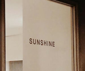 aesthetic and sunshine image