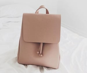 backpack, girly, and simple image