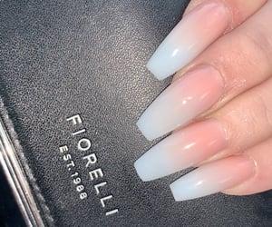 acrylic, blue, and nails image