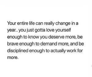 discipline, self-love, and motivated image