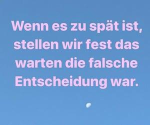 deutsch, warten, and spruch image