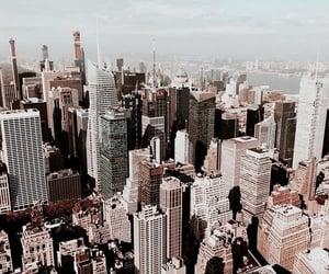 skyscraper, city, and new york image