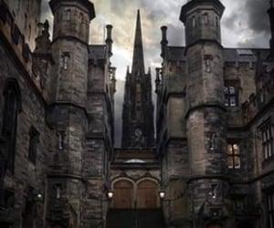 edinburgh and dark image
