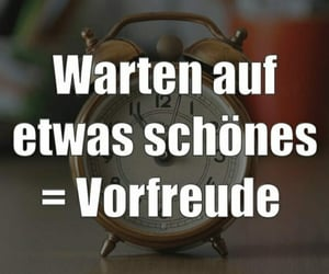 deutsch, glücklich, and warten image