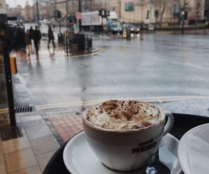 coffee and city image