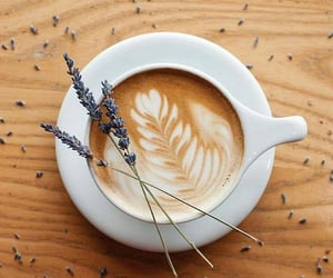 coffee and lavender image