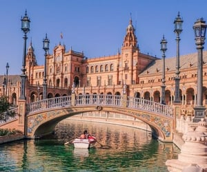 spain, sevilla, and travel image