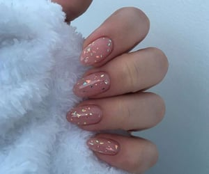 nails, beauty, and glitter image