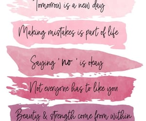 inspirational, pink, and quotes image