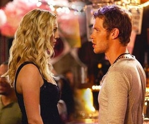 caroline, klaus, and The Originals image